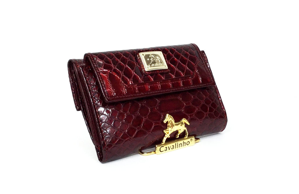 Red Patent Leather Wallet