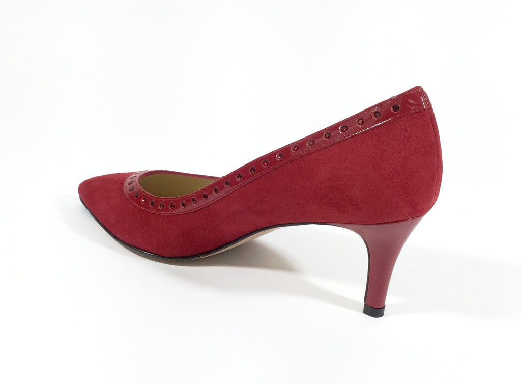 Suede Shoes Red