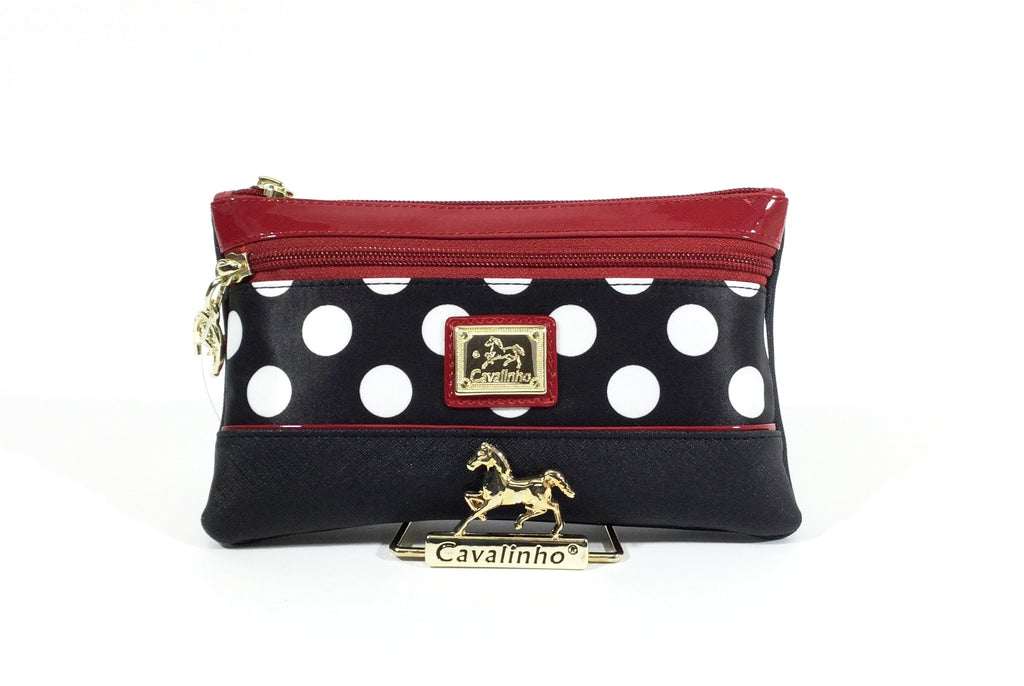 Large Polka Dots Large Cosmetic Case