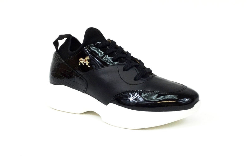 Ladies Black Sneaker