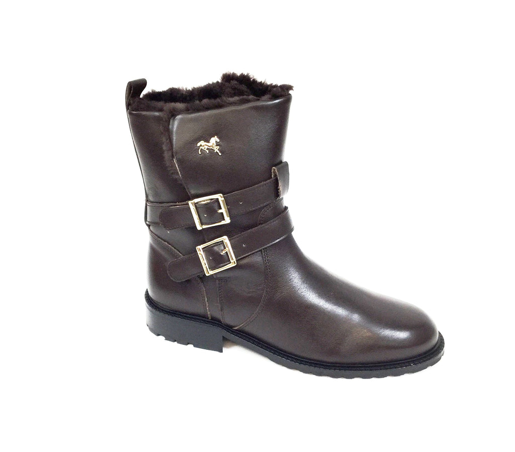 Women's Brown Winter Boots