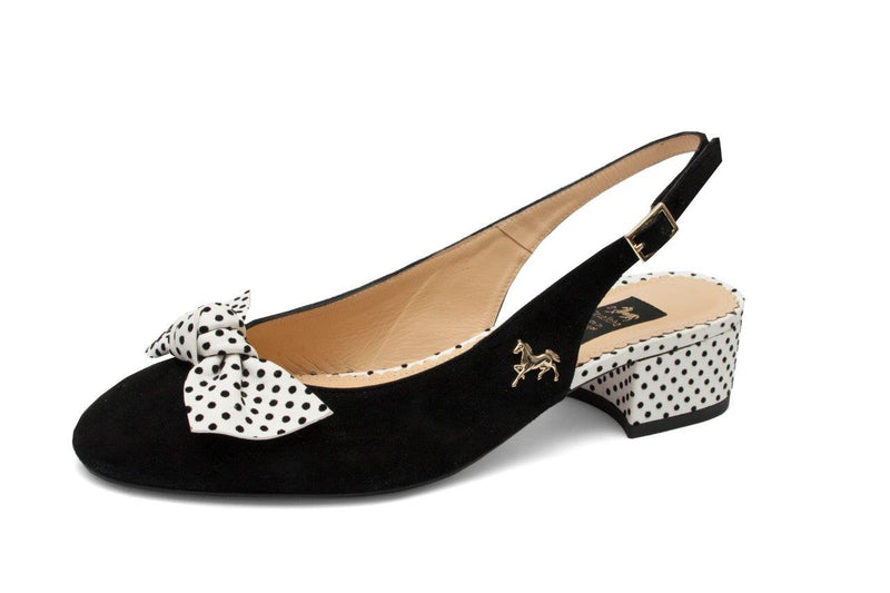 Slingback Pump Black