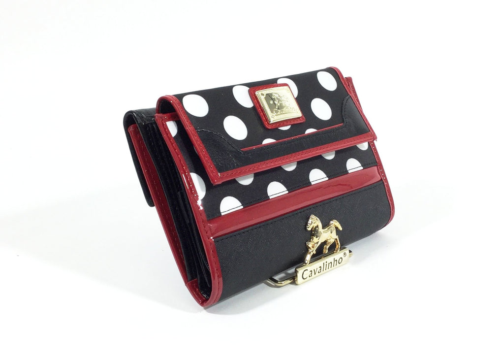 Large Polka Dots Wallet