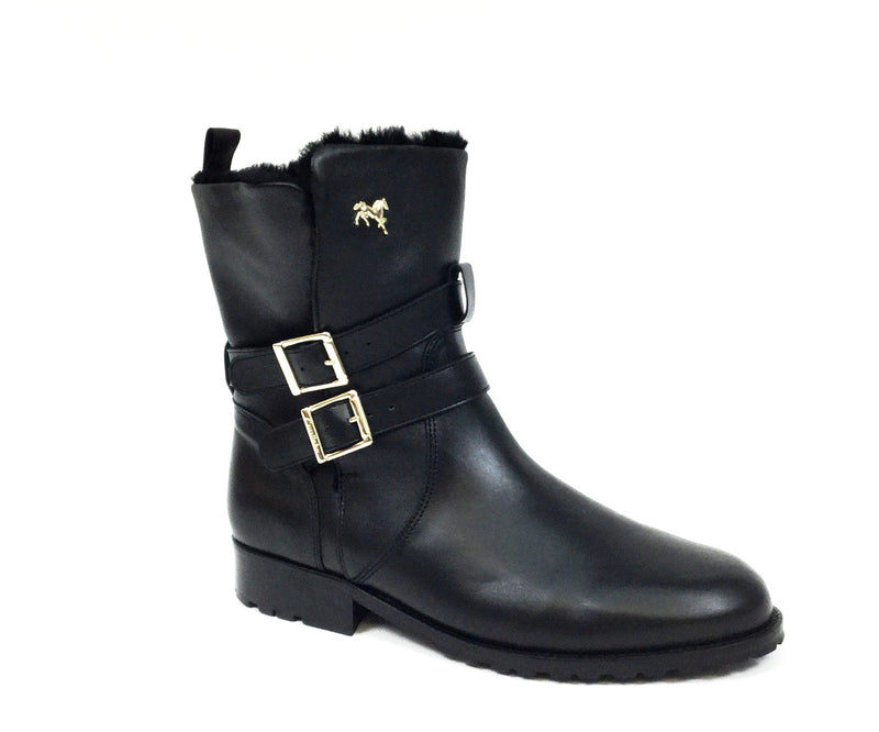 Women's Black Winter Boots
