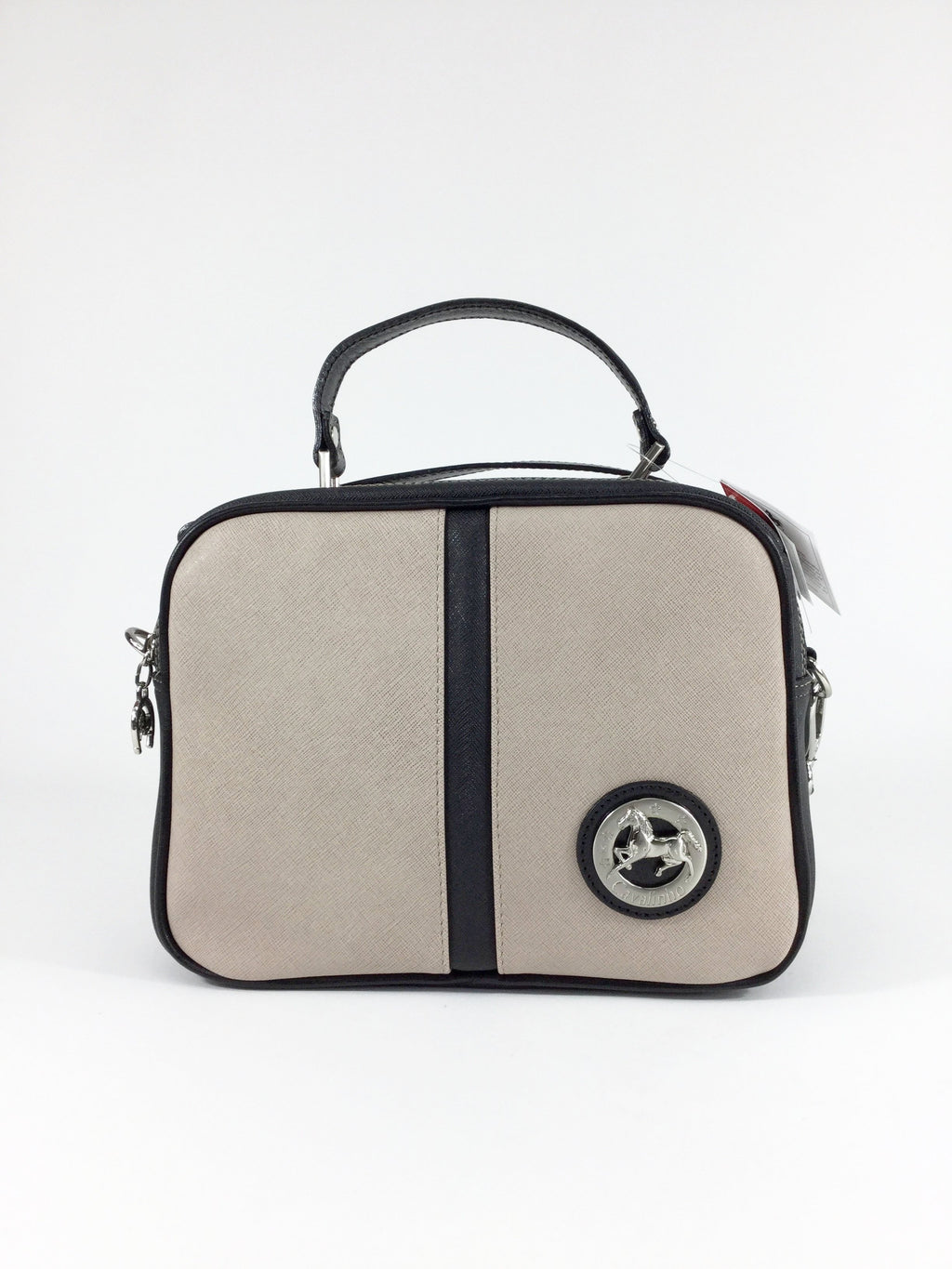 Black & Beige Handbag