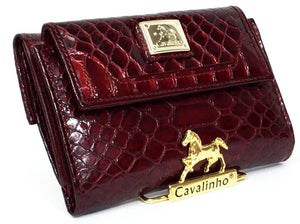 Galope Red Wallet