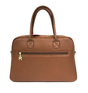 Caramel Leather Executive Bag