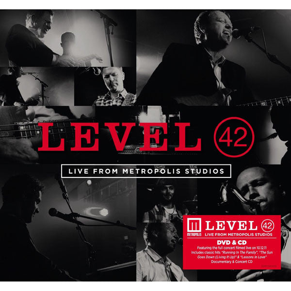 LEVEL 42 - LIVE FROM METROPOLIS STUDIOS (CD+DVD)