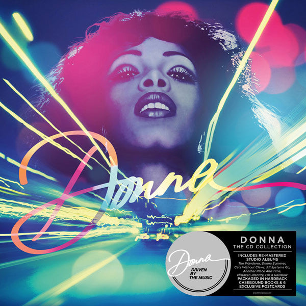 DONNA SUMMER - THE CD COLLECTION (10CD BOX SET)