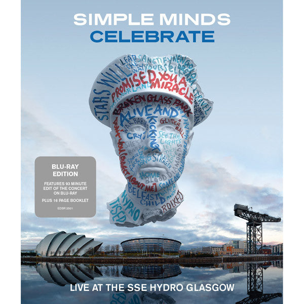 SIMPLE MINDS - CELEBRATE - LIVE AT THE SSE HYDRO GLASGOW (BLU-RAY)