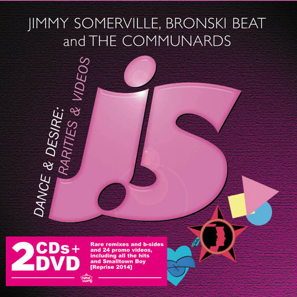 JIMMY SOMERVILLE, BRONSKI BEAT AND THE COMMUNARDS - DANCE & DESIRE (2CD+DVD)
