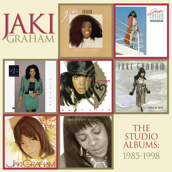 JAKI GRAHAM - THE STUDIO ALBUMS 1985-1998 (7CD)