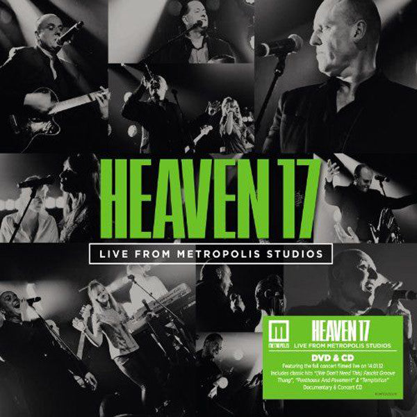 HEAVEN 17 - LIVE FROM METROPOLIS STUDIOS (CD+DVD)