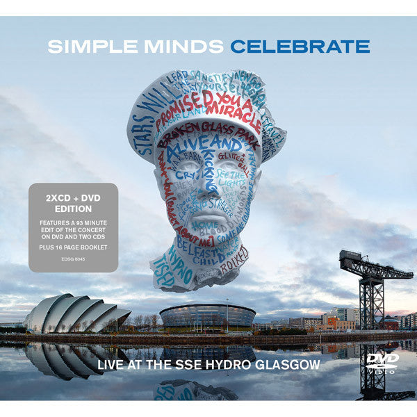 SIMPLE MINDS - CELEBRATE - LIVE AT THE SSE HYDRO GLASGOW (2CD+DVD)