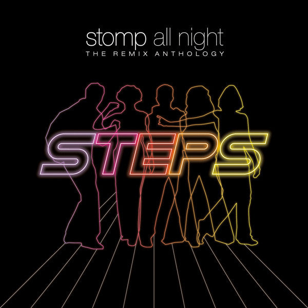 STEPS - STOMP ALL NIGHT: THE REMIX ANTHOLOGY (3CD)