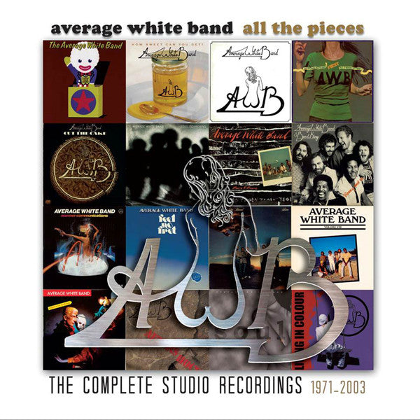 AVERAGE WHITE BAND - ALL THE PIECES - THE COMPLETE STUDIO RECORDINGS 1973-2003 (19CD)