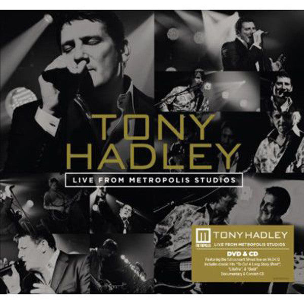 TONY HADLEY - LIVE FROM METROPOLIS STUDIOS (CD+DVD)