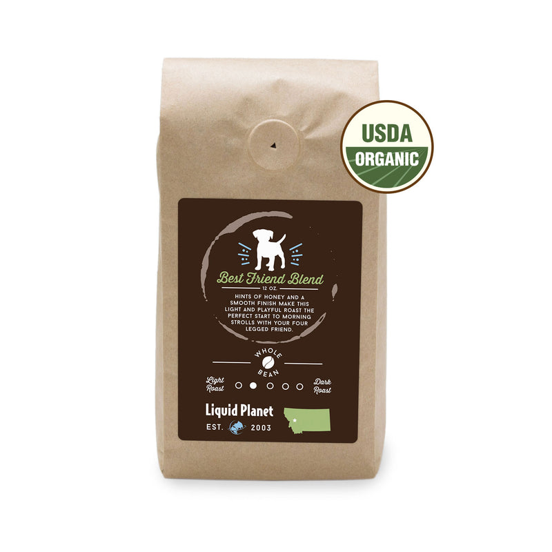 Organic Locally Roasted Coffee Best Friend Blend