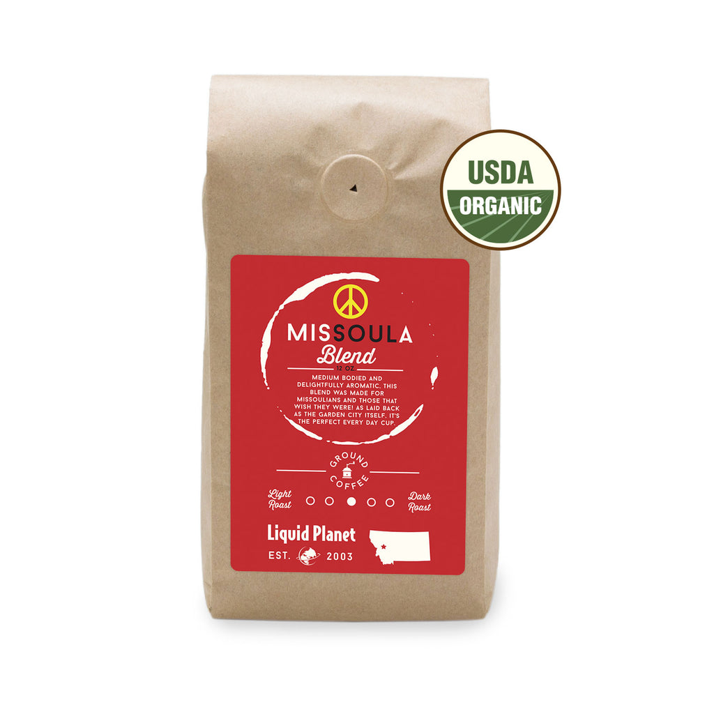 MisSOULa Blend Organic Coffee