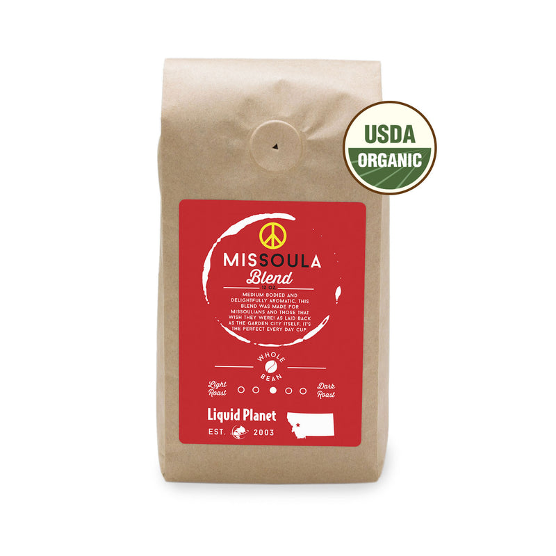 MisSOULa Blend Organic Coffee Locally Roasted