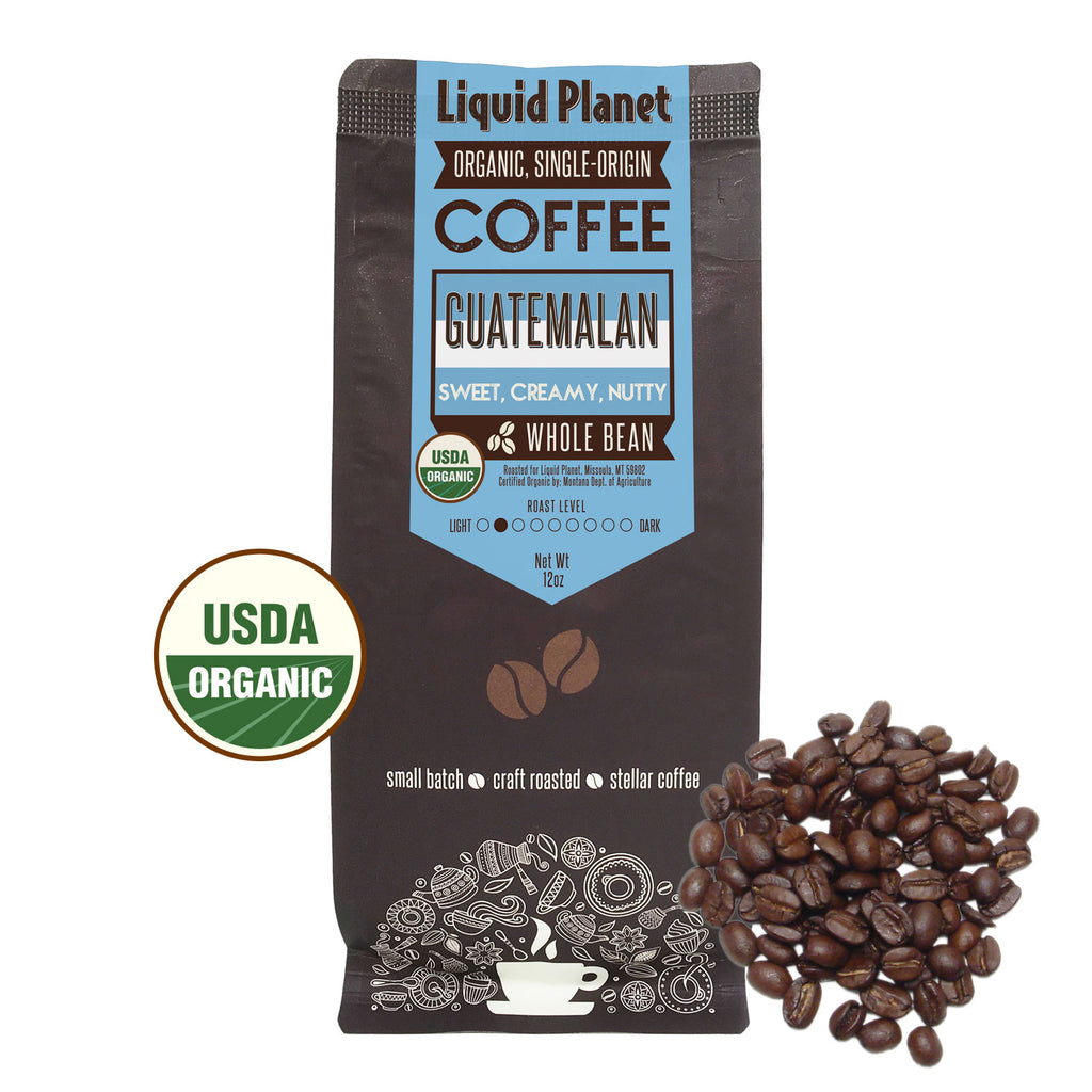 Organic Guatemalan Coffee Whole Bean