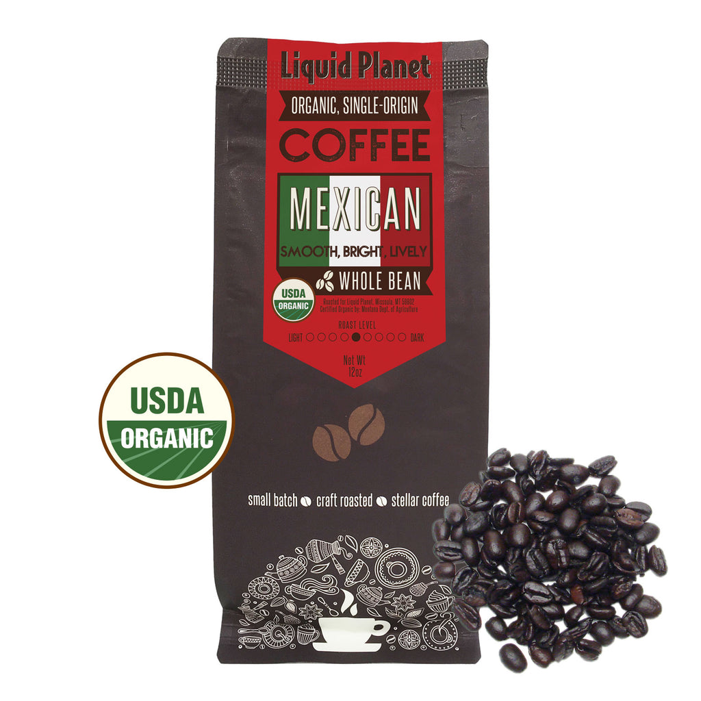 Organic Mexican Coffee Whole Bean