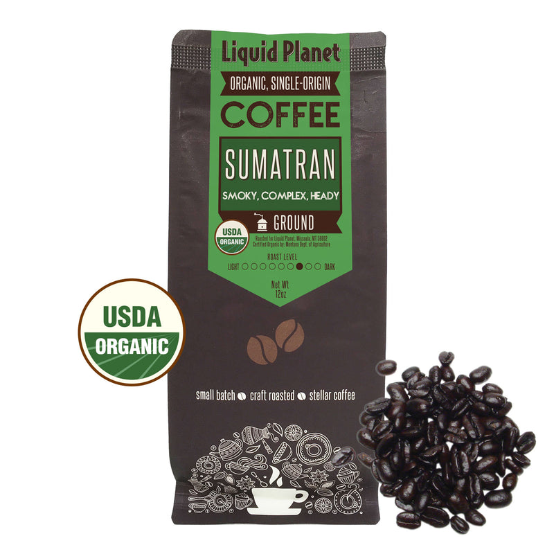 Organic Sumatran Coffee Ground