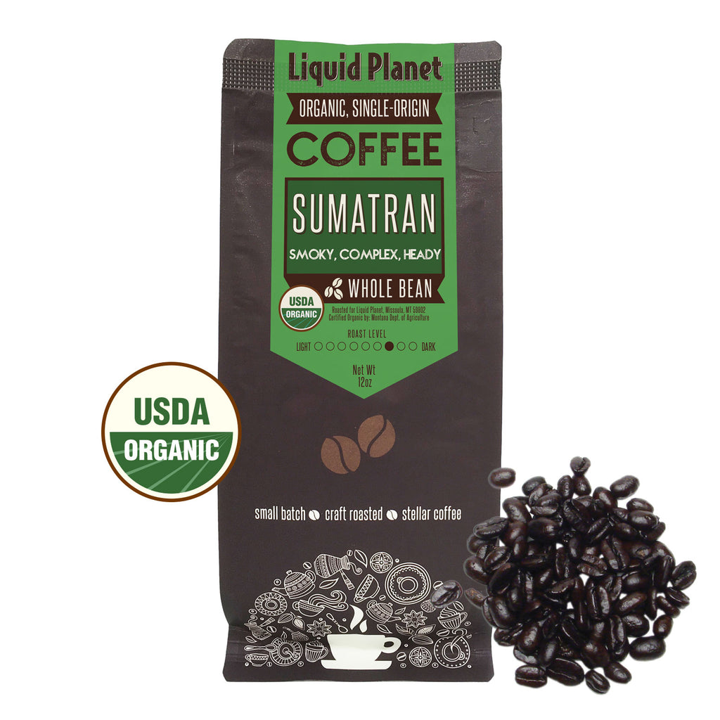 Organic Sumatran Coffee Whole Bean