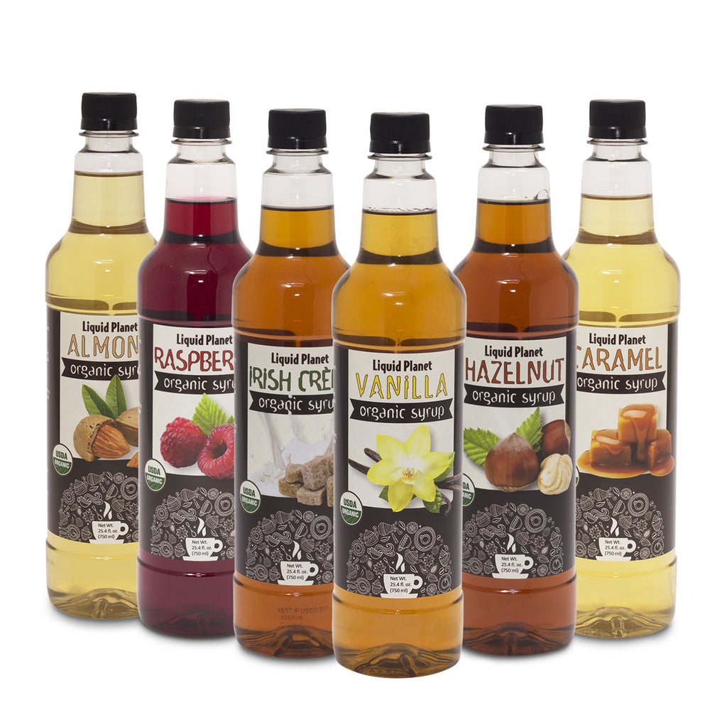 Liquid Planet Organic Syrups