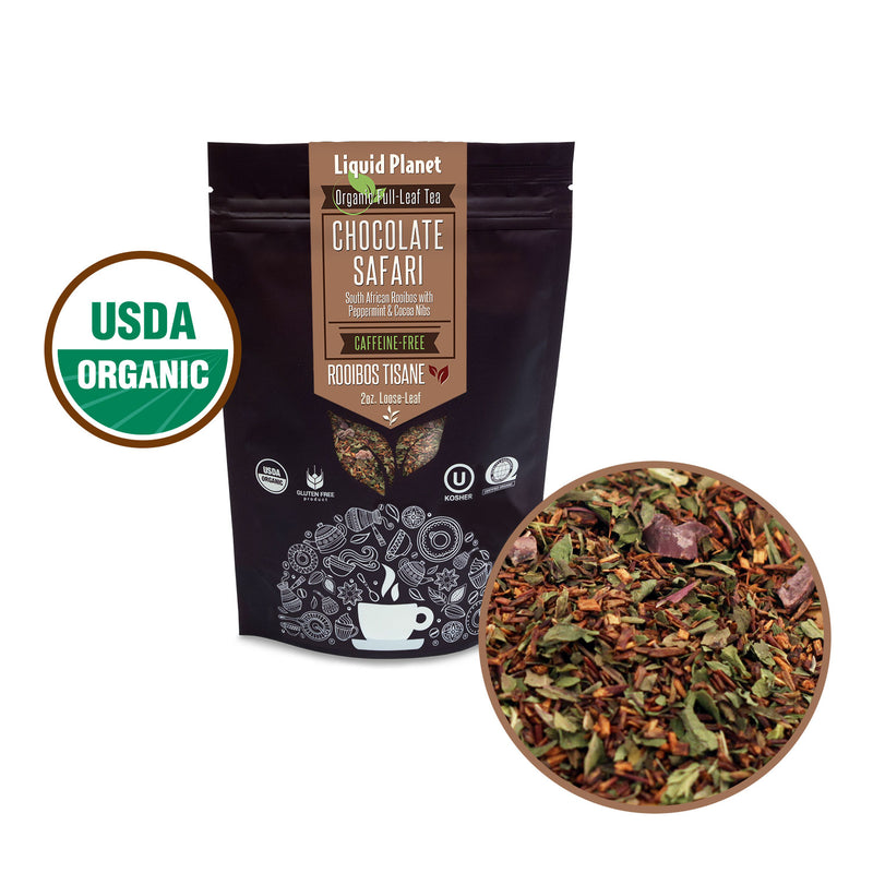 Liquid Planet Organic Tea ~ Chocolate Safari