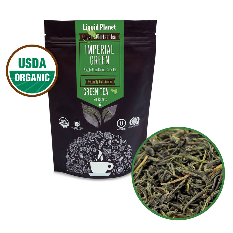 Liquid Planet Organic Tea ~ Imperial Green