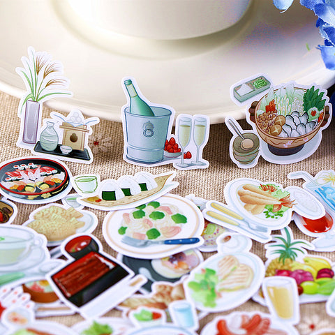 33 Japanese Food Stickers