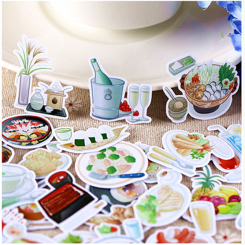 33 Fresh Food Stickers