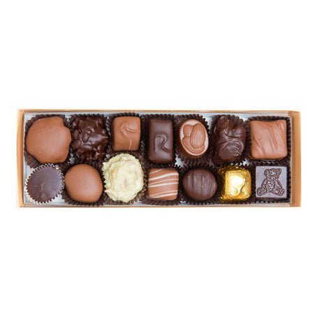 1/2 pound box of assorted chocolates