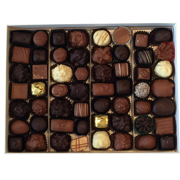 2 Pound Milk And Dark Assorted Chocolates The Chocolate Bear Shoppe