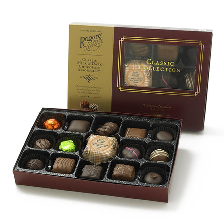 Classic Collection - 15 pc Milk and Dark Chocolates