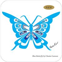 Blue Butterfly, by Chester Lawson | 6 Pieces