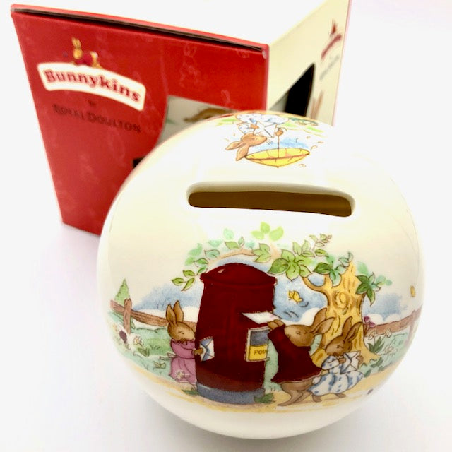 Bunnykins Money Ball - By Royal Doulton