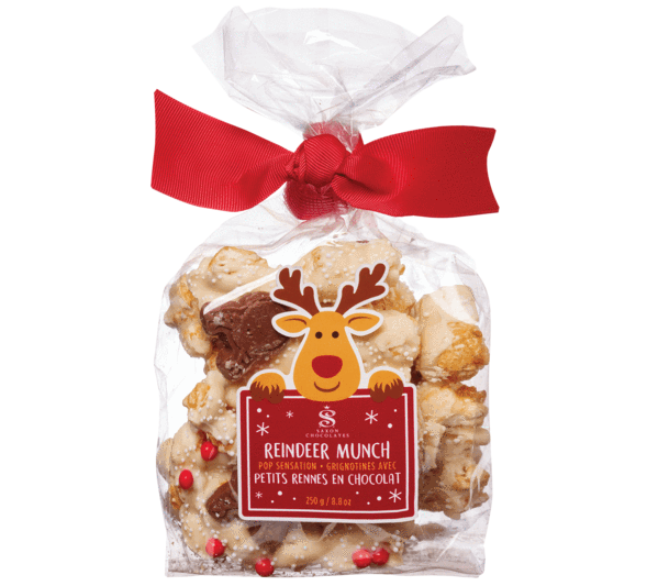 Reindeer Munch Popcorn Bag