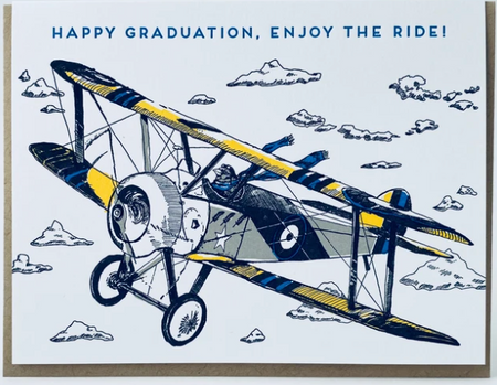 Happy Graduation, Enjoy The Ride!