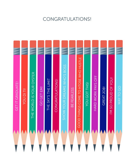 Congratulations! (Pencils)