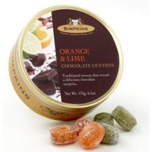 Simpkins Orange & Lime Chocolate Centres