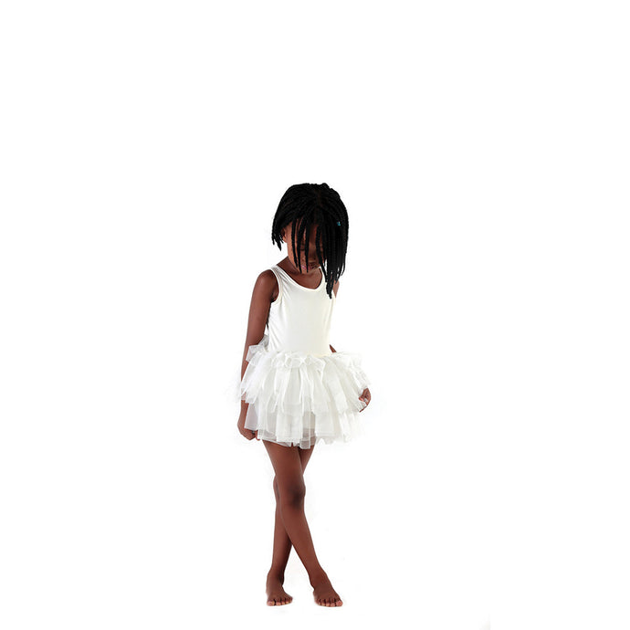 One Piece tutu with built in shorts for parties and playtime.
