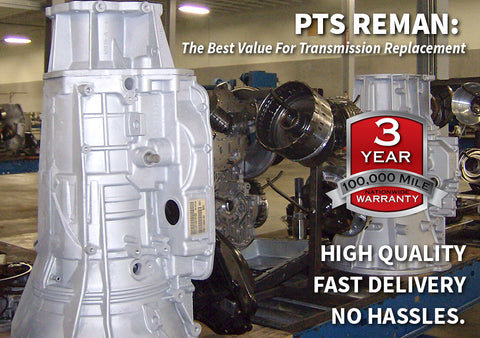 Replacement Transmissions, Built Right, Delivered Fast, and Guaranteed