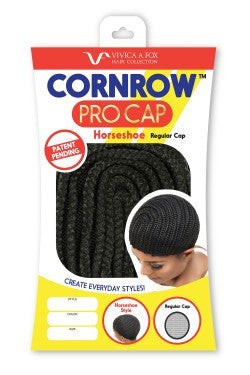 Cornrow Pro Braid Cap Straight Back - WeavXtensions
