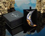 phantom crystal moon pendant fantasy cosplay jewelry in gift box