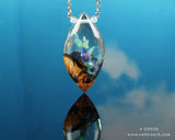 rainbow opal necklace, amazing cosplay wizard necklace
