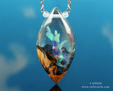 opal fantasy jewelry, larping gear necklace