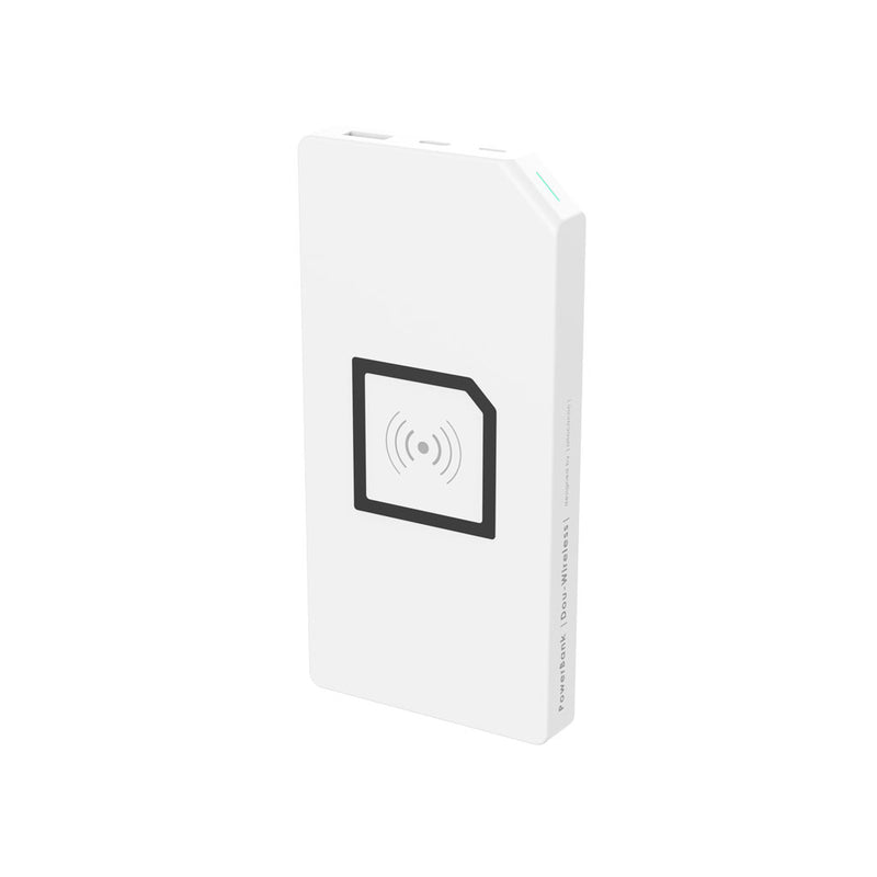 Allocacoc® PowerBank |Duo-Wireless|