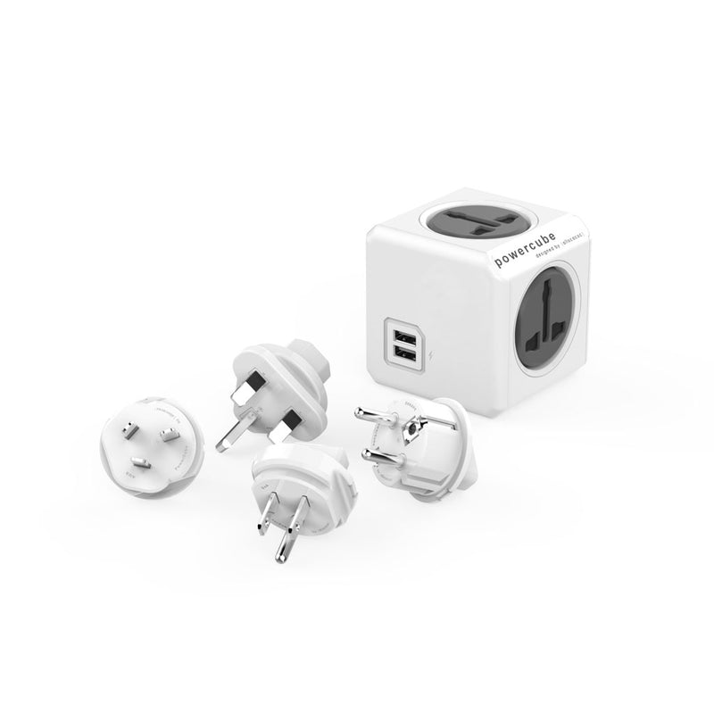 Allocacoc PowerCube®|Rewirable USB| Universal
